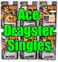 KISS Johnny Lightning Cars - Dragster SINGLES, Ace