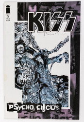 KISS Comic - Psycho Circus #5, Signed by the Artist