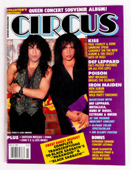 KISS Magazine - Circus July 1992.