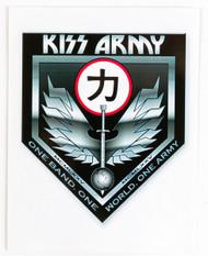 KISS Postcard - KISS Army Chikara
