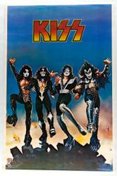 KISS Poster - Destroyer album artwork, (original 1976 printing)