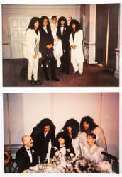 KISS Photos - Bruce Kulick wedding, (original prints, set of 2)