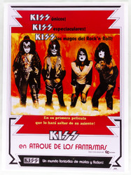 """KISS Poster - Attack of the Phantoms, 18"""" x 24"""", ARGENTINE, (repro)"""