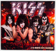 KISS Calendar - 2015, (sealed)