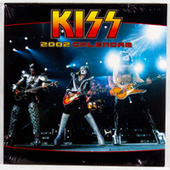 KISS Calendar - 2002, (sealed)
