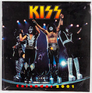 KISS Calendar - 2001, (sealed)
