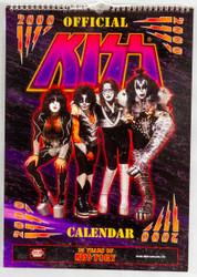 KISS Calendar - 2000, 25 Years of KISStory, (open)