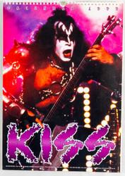 KISS Calendar - 1999, Gene, British, (open)