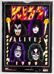KISS Calendar - 1999, Alive! (open)