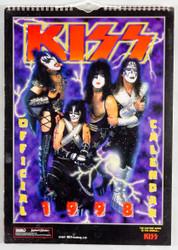 KISS Calendar - 1998, U.S., (open)