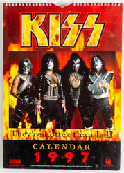 KISS Calendar - 1997, U.S., (open)