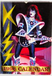 KISS Calendar - 1996, Ace, British, (open)