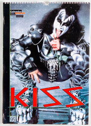 KISS Calendar - 1995, Gene, British, (open)