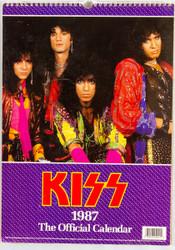 KISS Calendar - 1987, British, (open)
