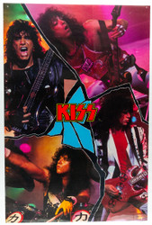 KISS Poster - Crazy Nights Cracked Mirror, (7/10)