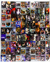 KISS Trading Cards - Cornerstone, 2nd Series, Uncut Sheet