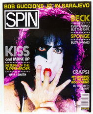KISS Poster - Spin Magazine store promo, (Paul, 8/10) - POSTER