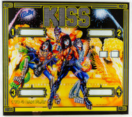 KISS Pinball Back Glass - New, unused, (German)