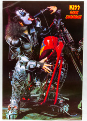 KISS Poster - Red Motorcycle, Gene