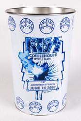 KISS Trash Can - KISS Coffeehouse, 1st Anniversary w/Ace.