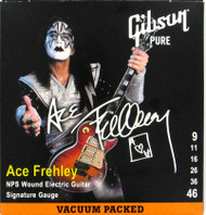 KISS Guitar Strings - Ace Frehley Gibson Pure, Vacuum packed