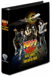KISS Guitar Pick Binder - Sonic Boom Over Europe