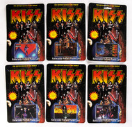 KISS Phone Card - Reunion Tour, (set of 6).