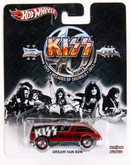 KISS Car - Hotwheels Red Dream Van.