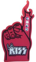 LA KISS Football League - Red Foam #1 Finger