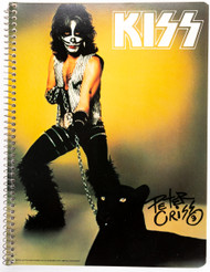 KISS Spiral Notebook - Peter REPRODUCTION