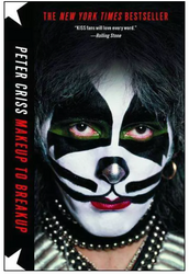 KISS Book - Peter Criss, Makeup to Breakup, (Soft cover)