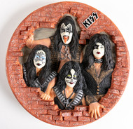 KISS Plate - Bas Relief.