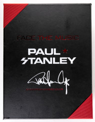 KISS Autograph - KISS Face the Music book signed by Paul Stanley, SPECIAL EDITION