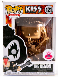 KISS Figures - Funko Pop! Rocks, Gene Demon, CUSTOM #121