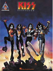 KISS Songbook - Destroyer for guitar
