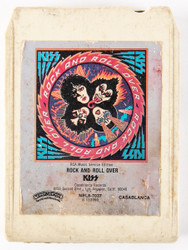 KISS 8-Track Tape - Rock and Roll Over