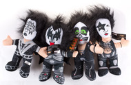 KISS Plush Figures - Toy Factory, 13-inch, (set of 4)