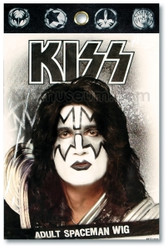 KISS Costume Wig - Ace, Tommy, Spaceman