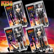 KISS Figures - Destroyer 12-inch, (set of 4)