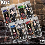 KISS Figures - Alive! 8-inch, (reissue, set of 4).