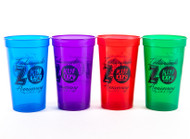 KISS Cups - Indianapolis KISS Expo plastic set of 4
