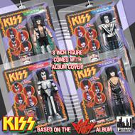 "KISS Sonic Boom Figures - 8"", (set of 4)"
