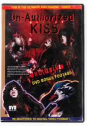 KISS DVD - Unauthorized, (alternate cover)