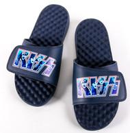 KISS Shoes - ISlide slip-on sandals, KISS Logo, (size 11)