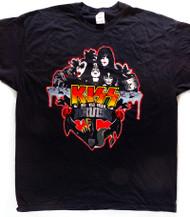 KISS T-Shirt - KISS Kruise I, 2011 -Wet, Wild, Rockin, (size M)