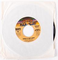 KISS 45 RPM Vinyl - Shout it Out Loud PROMOTIONAL COPY, (7/10)
