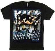 KISS T-Shirt - KISS/Motley Crue The Tour, (size M)