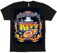 KISS T-Shirt - Gridiron Gods, (size L)
