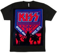 KISS T-Shirt - KISS Army Member, silhouette, (size L)