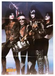 KISS Poster - Spirit of '76/Reunion '96, (folded)